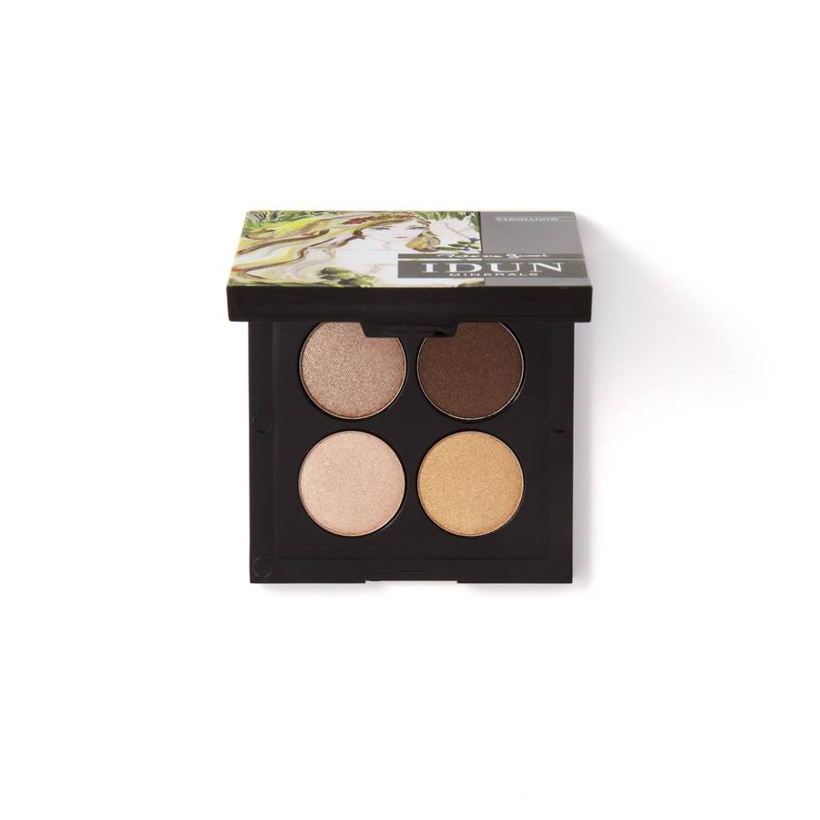 Idun Minerals Eye Shadow Palette Brunkulla 4g