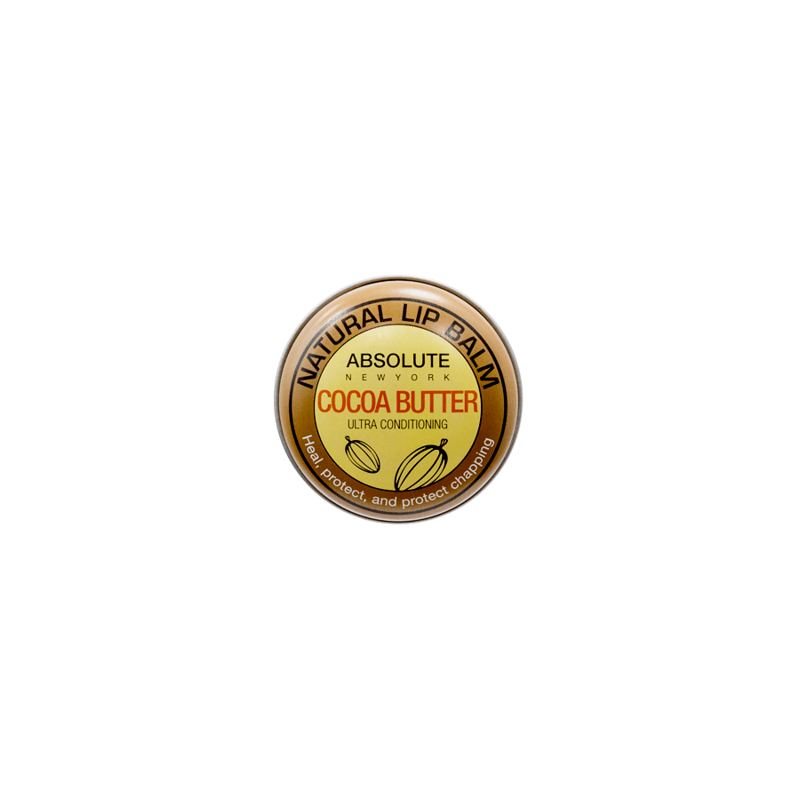 Absolute New York Natural Lip Balm Cocoa Butter ANB04