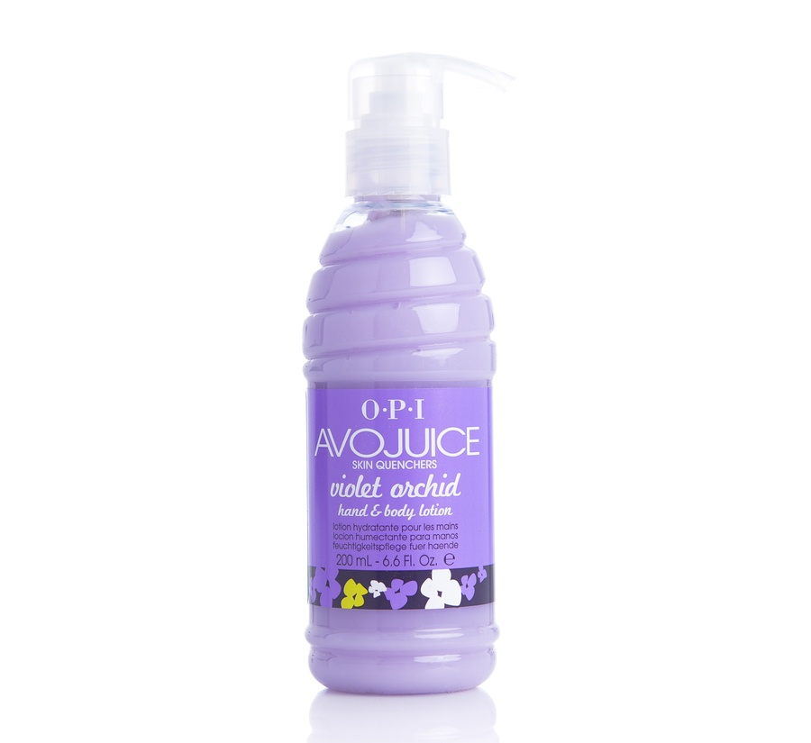 OPI Avojuice Hand & Body Cream Violet Orchid 200ml