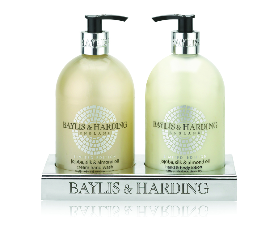 Baylis & Harding Jojoba, Silk & Almond Oil 500ml Hand Wash And Hand & Body Lotion 500ml