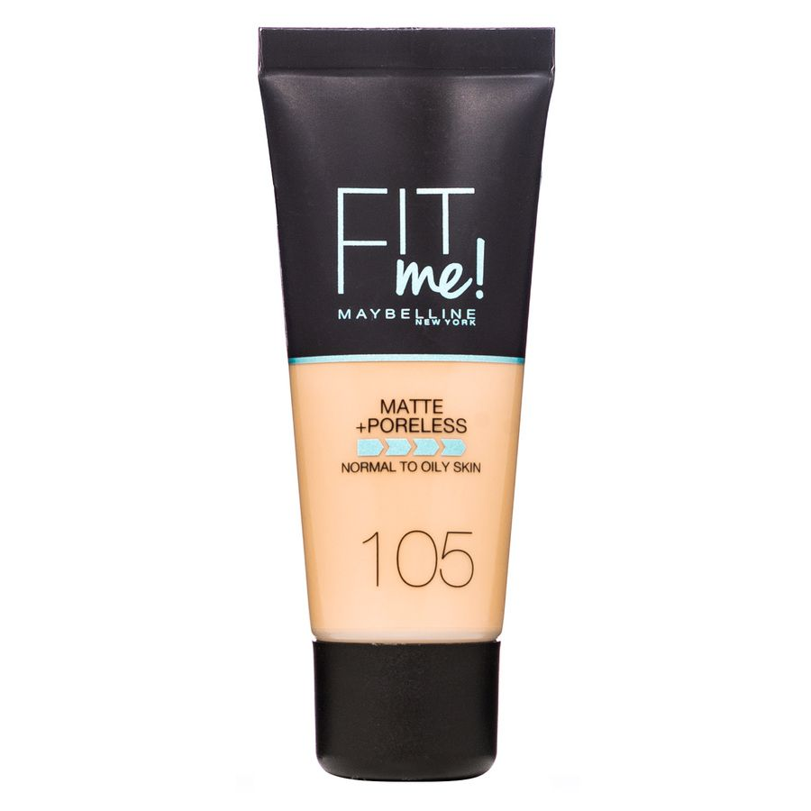 Maybelline Fit Me Makeup Matte + Poreless Foundation 105 30ml Tube
