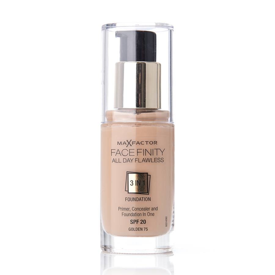 Max Factor Facefinity 3 In 1 Foundation 75 Golden 30ml