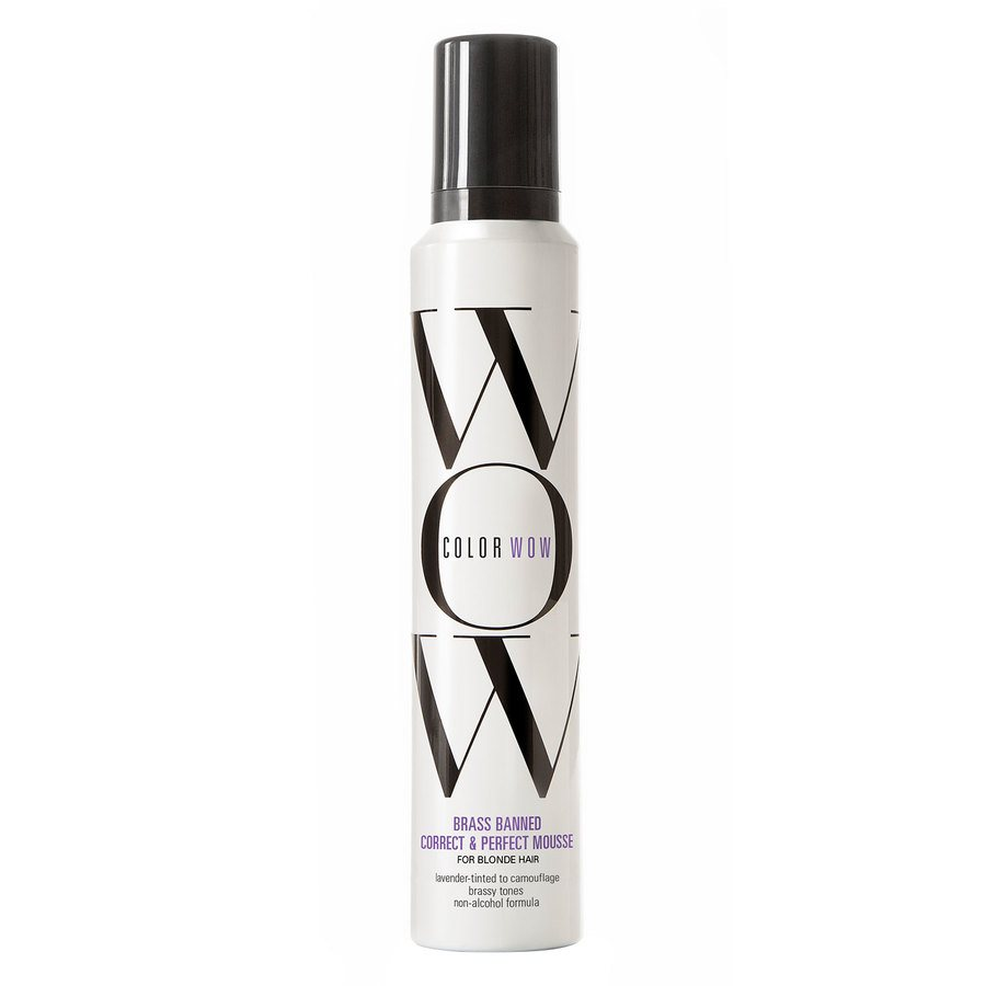 Color Wow Brass Banned Correct & Perfect Mousse For Blondes 200ml