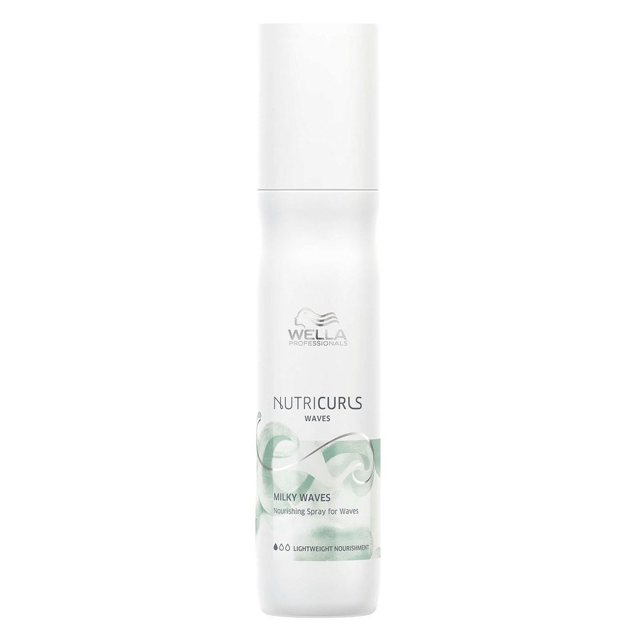 Wella Professionals Nutricurls Milky Waves Nourishing Spray For Wave 150ml