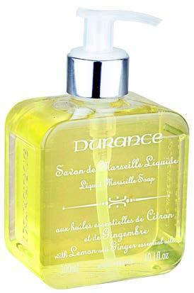 Durance Marseille Liquid Marseille Soap With Sitron/Ingefær 300ml