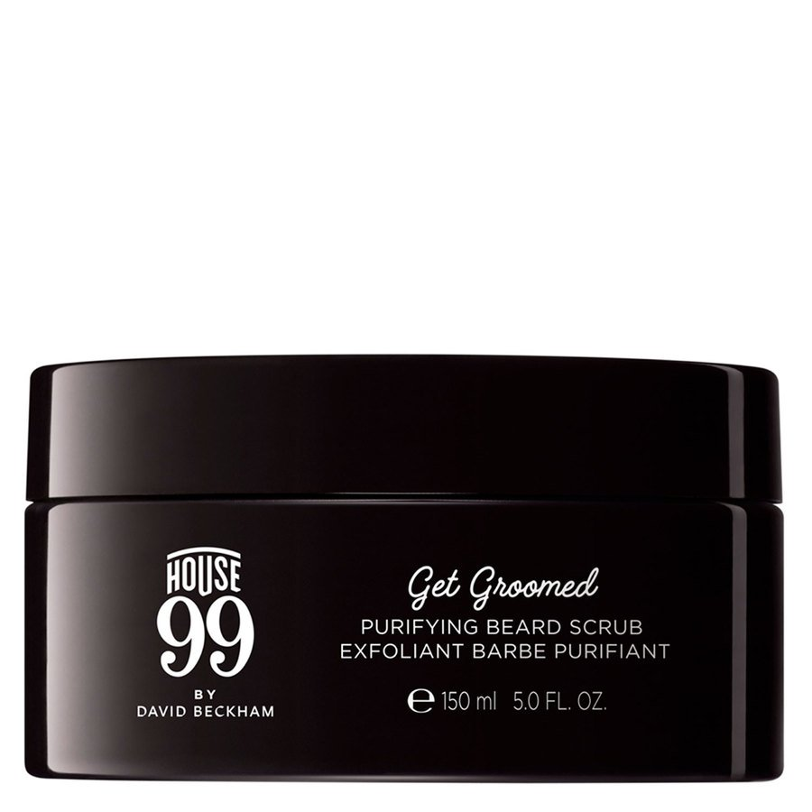 House 99 by David Beckham Get Groomed Purifying Beard Scrub 150ml