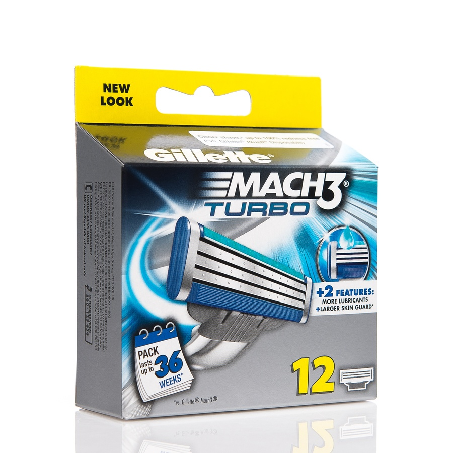 Gillette Mach 3 Turbo 12 blader