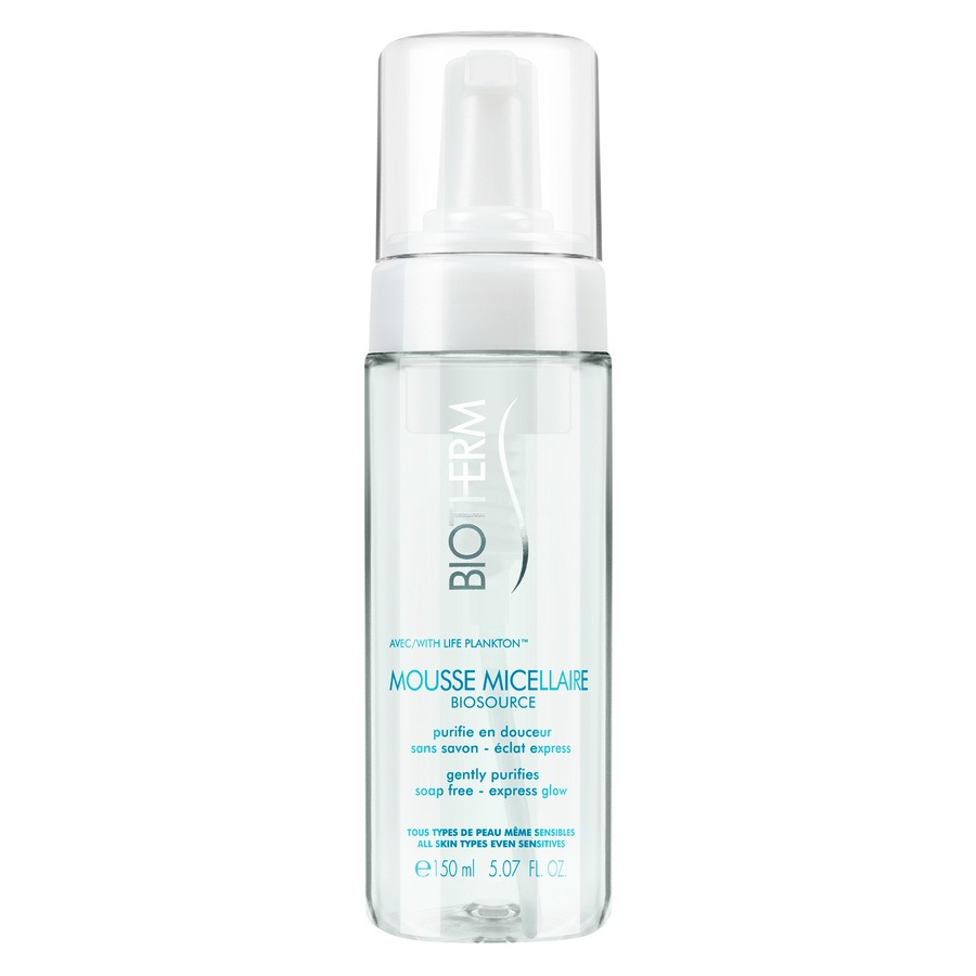 Biotherm Biosource Cleansing Mousse Micellaire All Skin Types 150ml