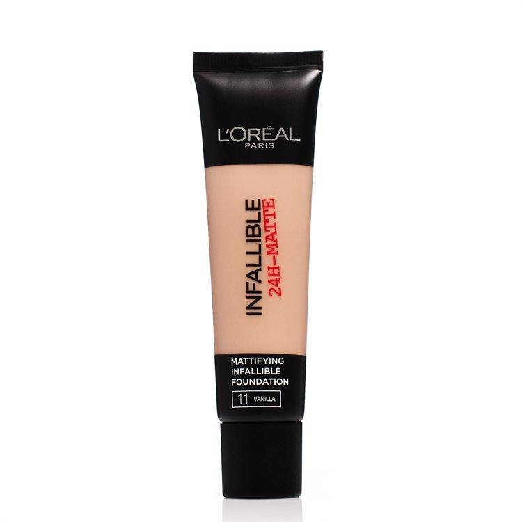 L'Oréal Paris Infallible 24h Matte Foundation #11 Vanilla 35ml