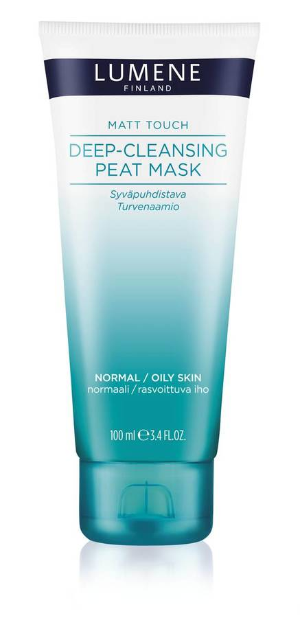 Lumene Skin Care Mat Touch Deep-Cleansing Peat Mask 100ml