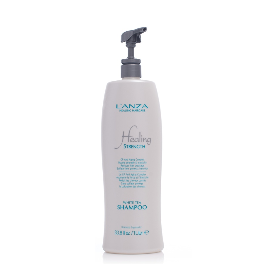 Lanza Healing Strength  White Tea Shampoo 1000ml