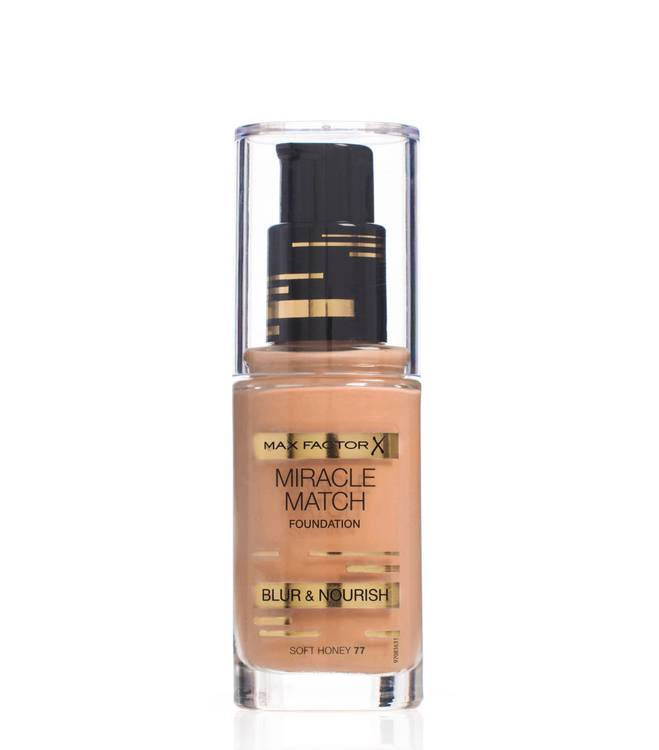 Max Factor Miracle Match Foundation Soft Honey 077