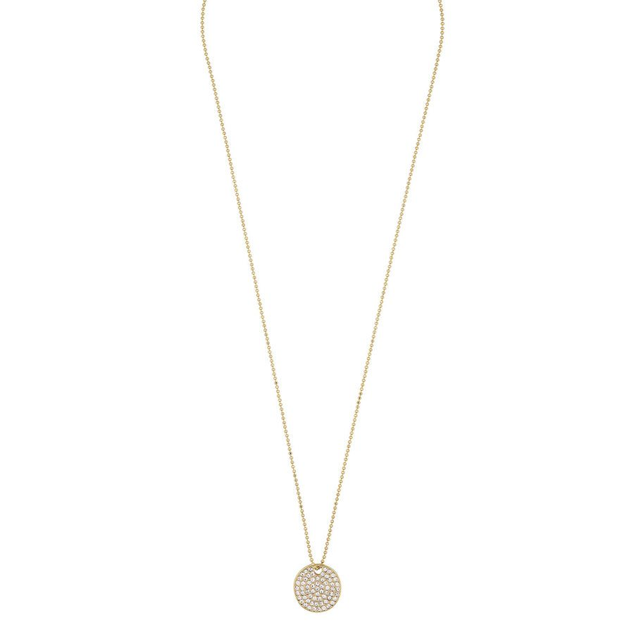 Snö of Sweden Corinne Pendant Necklace 42cm Gold/Clear