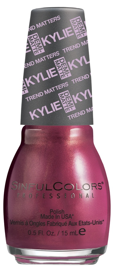Kylie Jenner Sinful Colors Neglelakk Krushed Velvet #2080 15ml