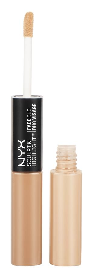 NYX Sculpt & Highlight Face Duo Almond/Light