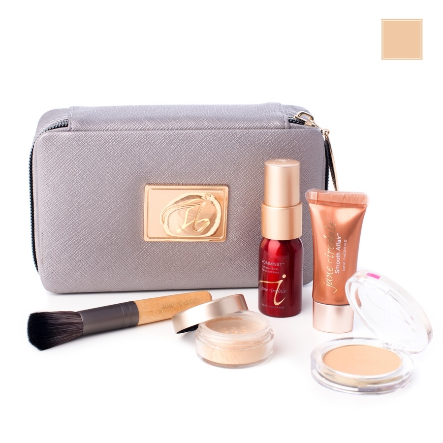 Jane Iredale Starter Kit 6 Deler Medium