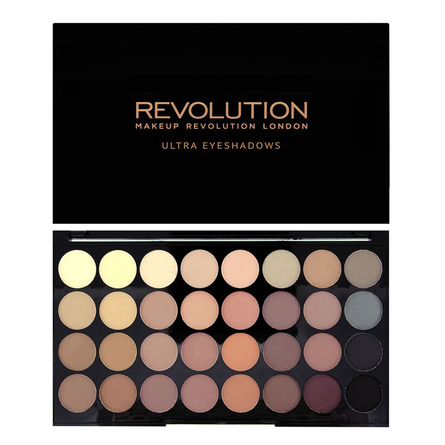 Makeup Revolution Ultra 32 shade Eyeshadow Flawless Matte 16g