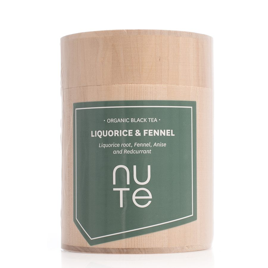 NUTE Liquorice & Fennel 100g