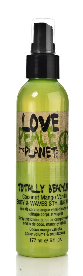 Tigi Love Peace & The Planet Totally Beachin`Body & Waves Styling 177ml