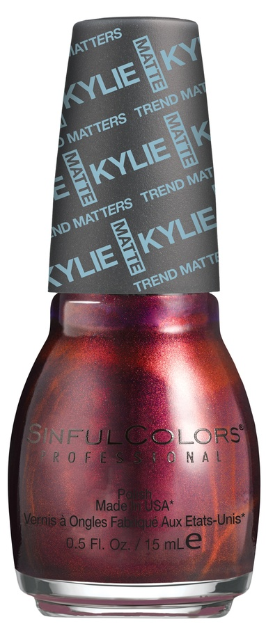 Kylie Jenner Sinful Colors Neglelakk Haute Koffee #2139 15ml