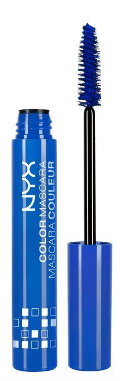 NYX Prof. Makeup Color Mascara Blue CM02