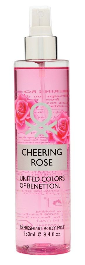 Benetton Cheering Rose Refreshing Body Mist 250ml