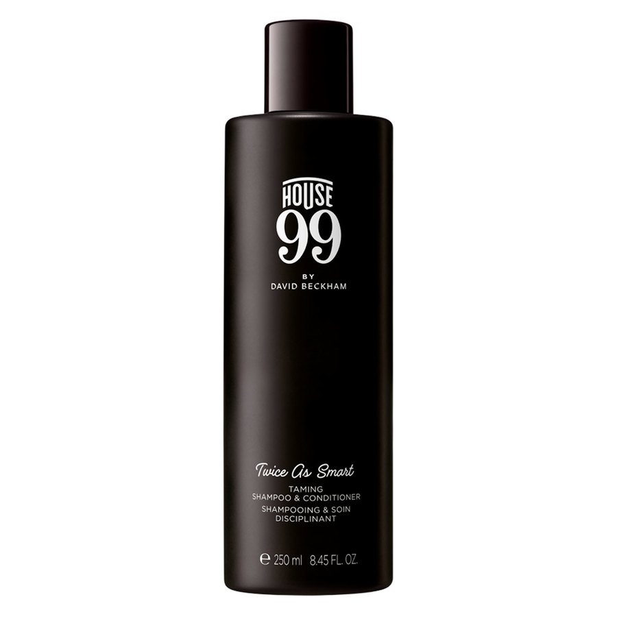 House 99 by David Beckham Twice As Smart Taming Shampoo & Conditioner 250ml