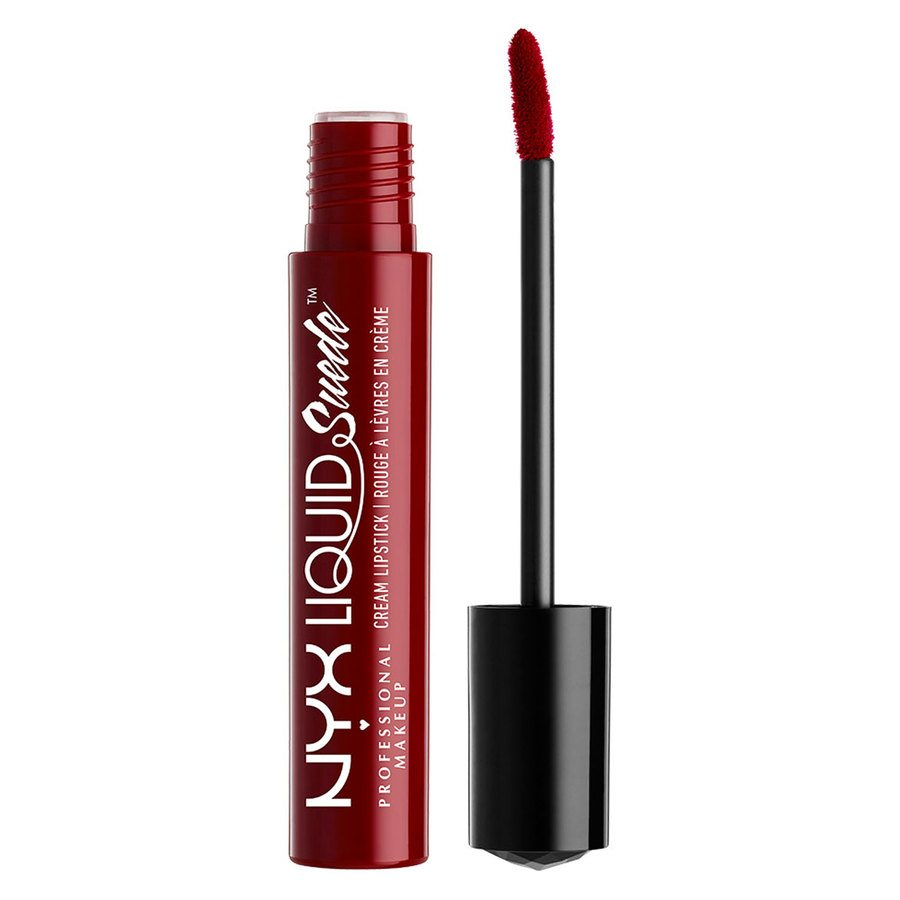 NYX Professional Makeup Liquid Suede Cream Lipstick Cherry skies LSCL03