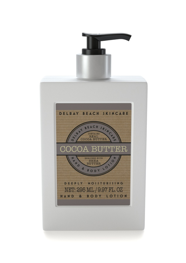 Delray Beach Skincare Hand & Body Lotion Cocoa Butter 295ml