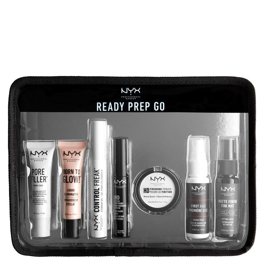 NYX Professional Makeup Ready, Prep, Go Jet Set Travel Kit