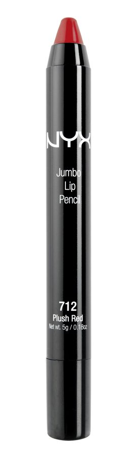 NYX Jumbo Lip Pencil 712 Plush Red