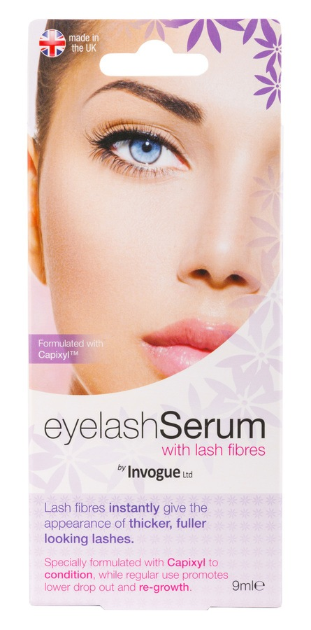 Invogue Lash serum with Fibres 9ml