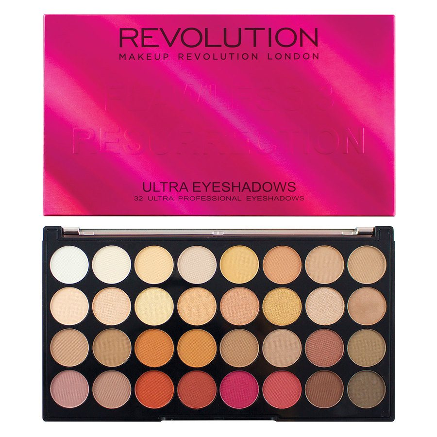 Makeup Revolution Ultra 32 Eyeshadow Palette Flawless 3 Resurrection 20g