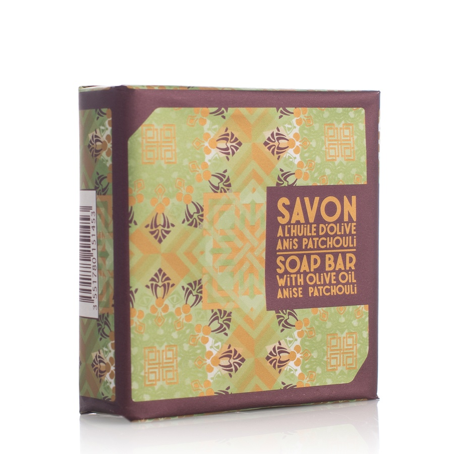 Compagnie De Provence Soap Bar With Olive Oil Anise Patchouli 100g