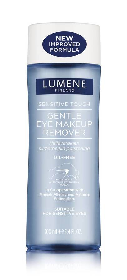 Lumene Skin Care Sensitive Touch Gentle Eye Makeup Remover 100ml