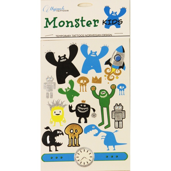 Myjouels Tattoos Monster Kids