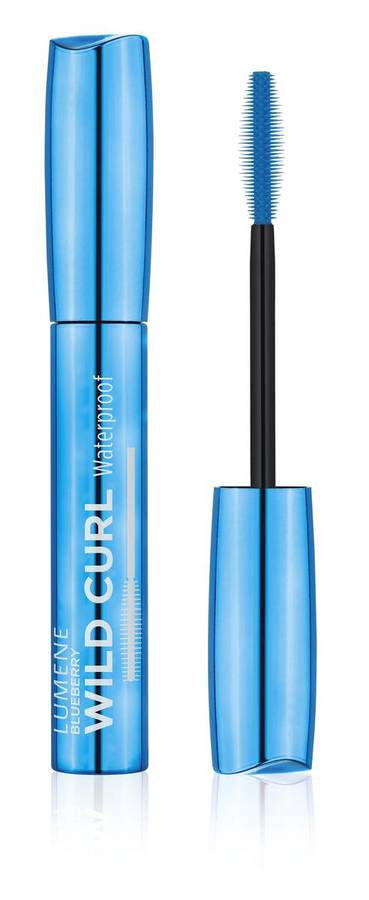 Lumene Blueberry Wild Curl Waterproof Mascara Rich Black 7 ml