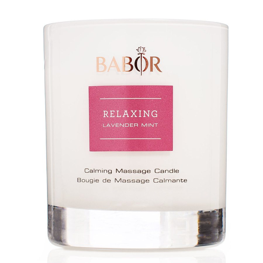 Babor Relaxing Lavender Mint Calming Massage Candle 190g