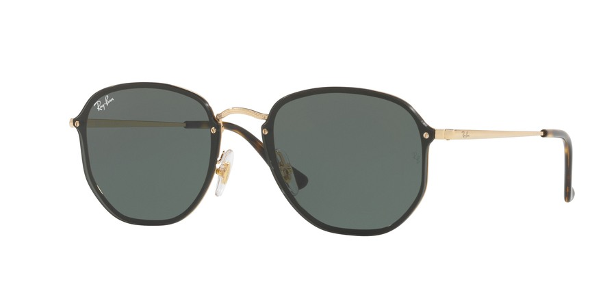Ray Ban Blaze Hexagonal 0RB3579N Gold/Black