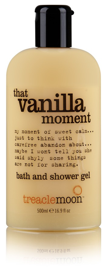 Treacle Moon Vanilla Moment Bath And Shower Gel 500ml