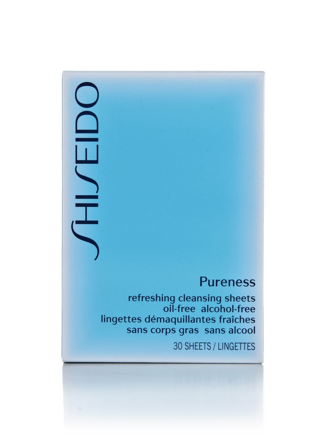 Shiseido Pureness Refreshing Cleansing Sheets 30stk
