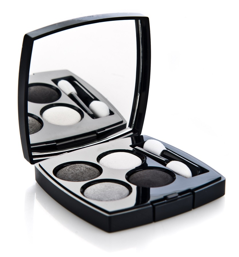 Chanel 4 Eye Shadow Collection Smoky Eyes 93