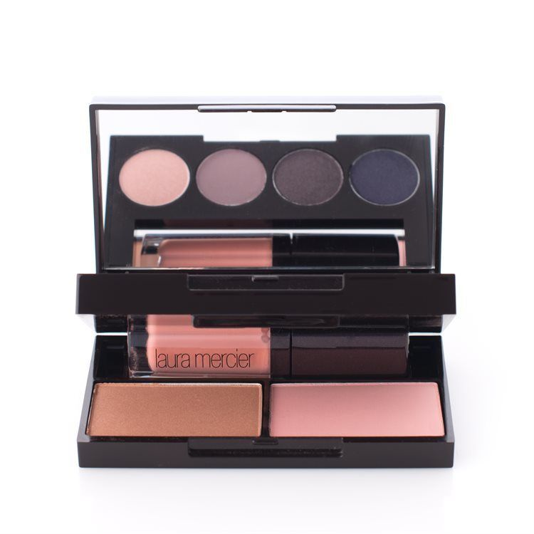 Laura Mercier Colour-To-Go Portable Palette For Eyes, Cheeks & Lips 7 Deler Smoky Violets
