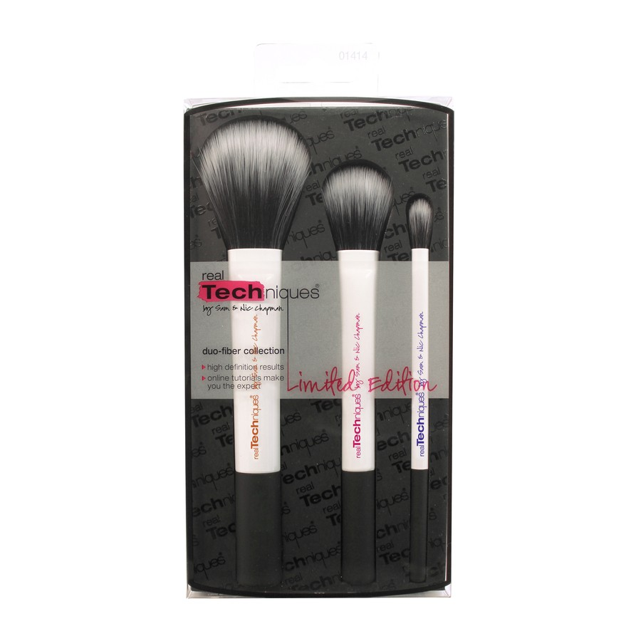 Real Techniques Duo-Fiber Collection Limited Edition 3 Deler