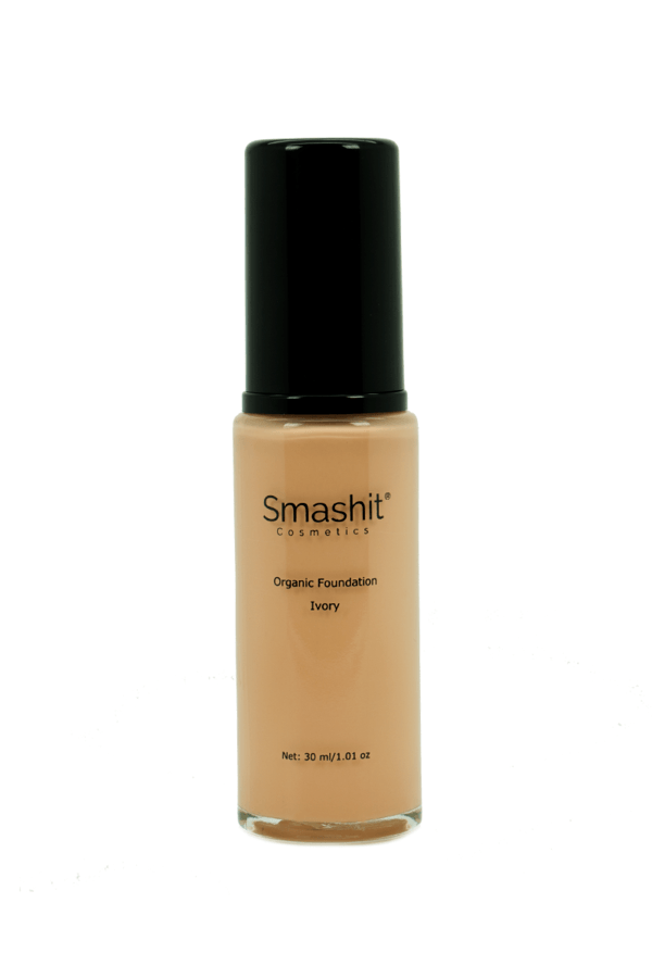 Smashit Cosmetics Organic Foundation Ivory 30ml