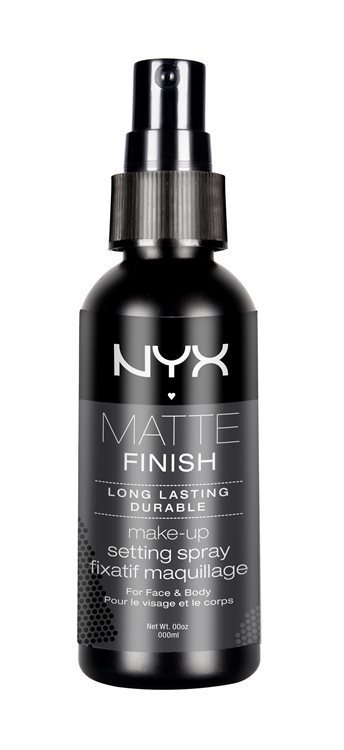 NYX Matte Finish Long Lasting Make-Up Setting Spray MSS01