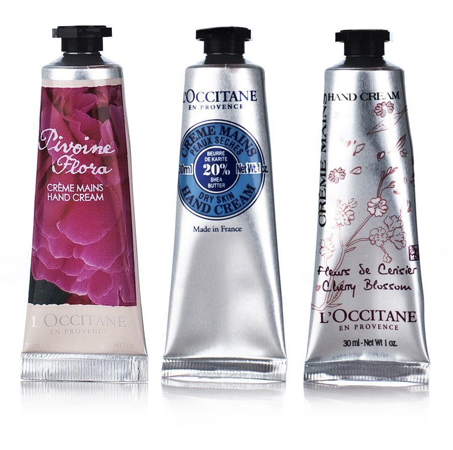 L`Occitane Hand Trio Sett 3x30ml