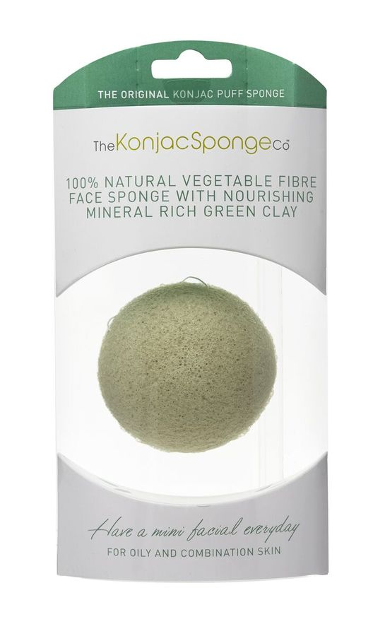 Original Korean Konjac Sponge Green Konjac Sponge for complex skin