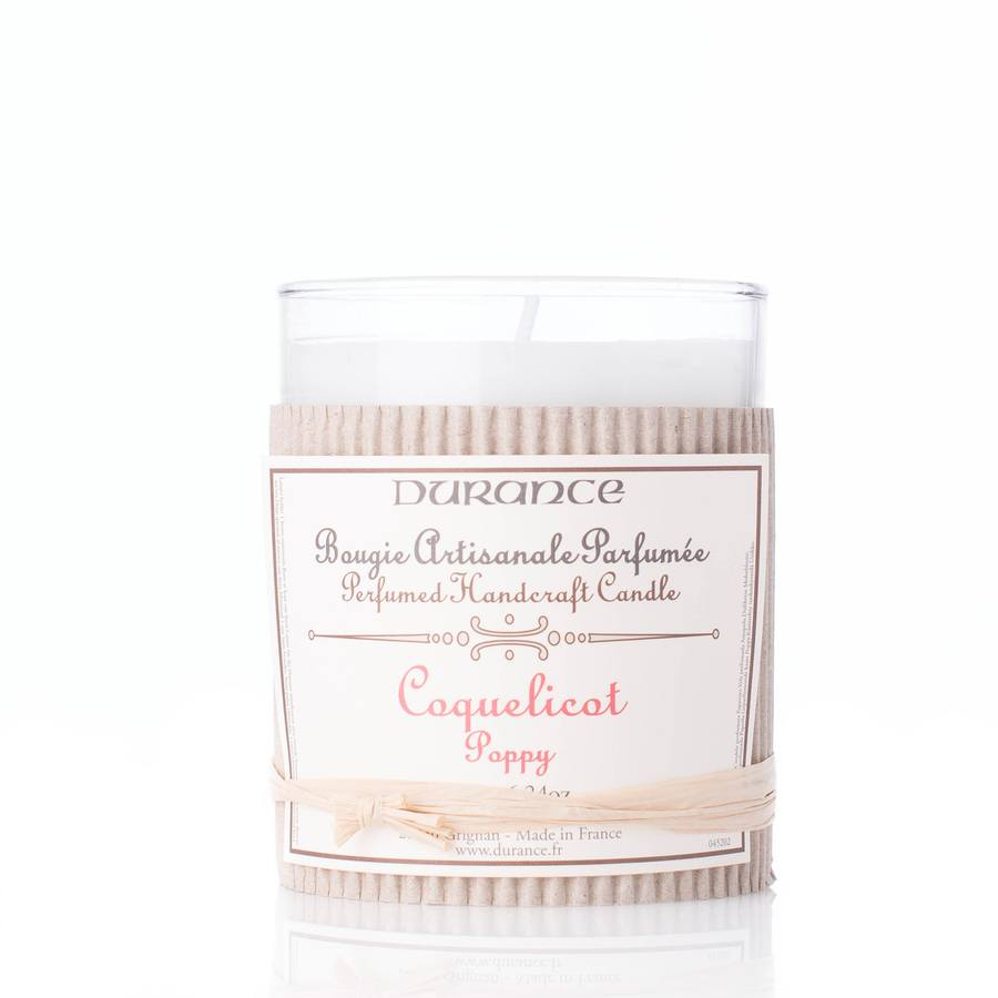 Durance Perfumed Handcraft Candle Poppy/Valmue
