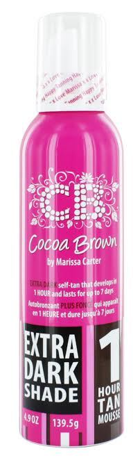 Cocoa Brown by Marissa Carter 1 Hour Tan Mousse Extra Dark Shade 150 ml